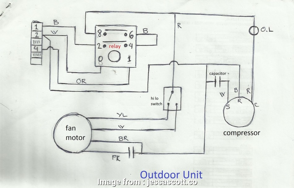 Split Ac Outdoor Wiring Diagram Pdf