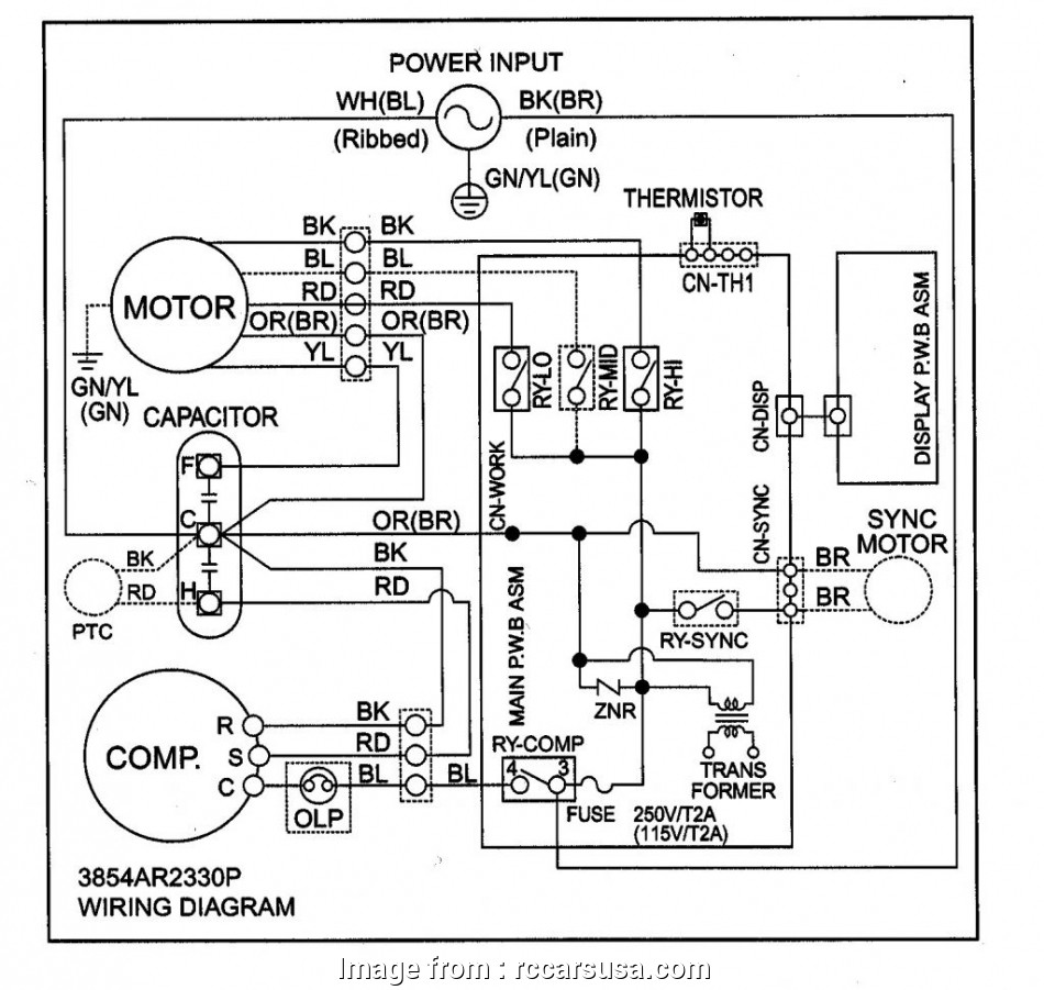Zamil Split Ac Wiring Diagram
