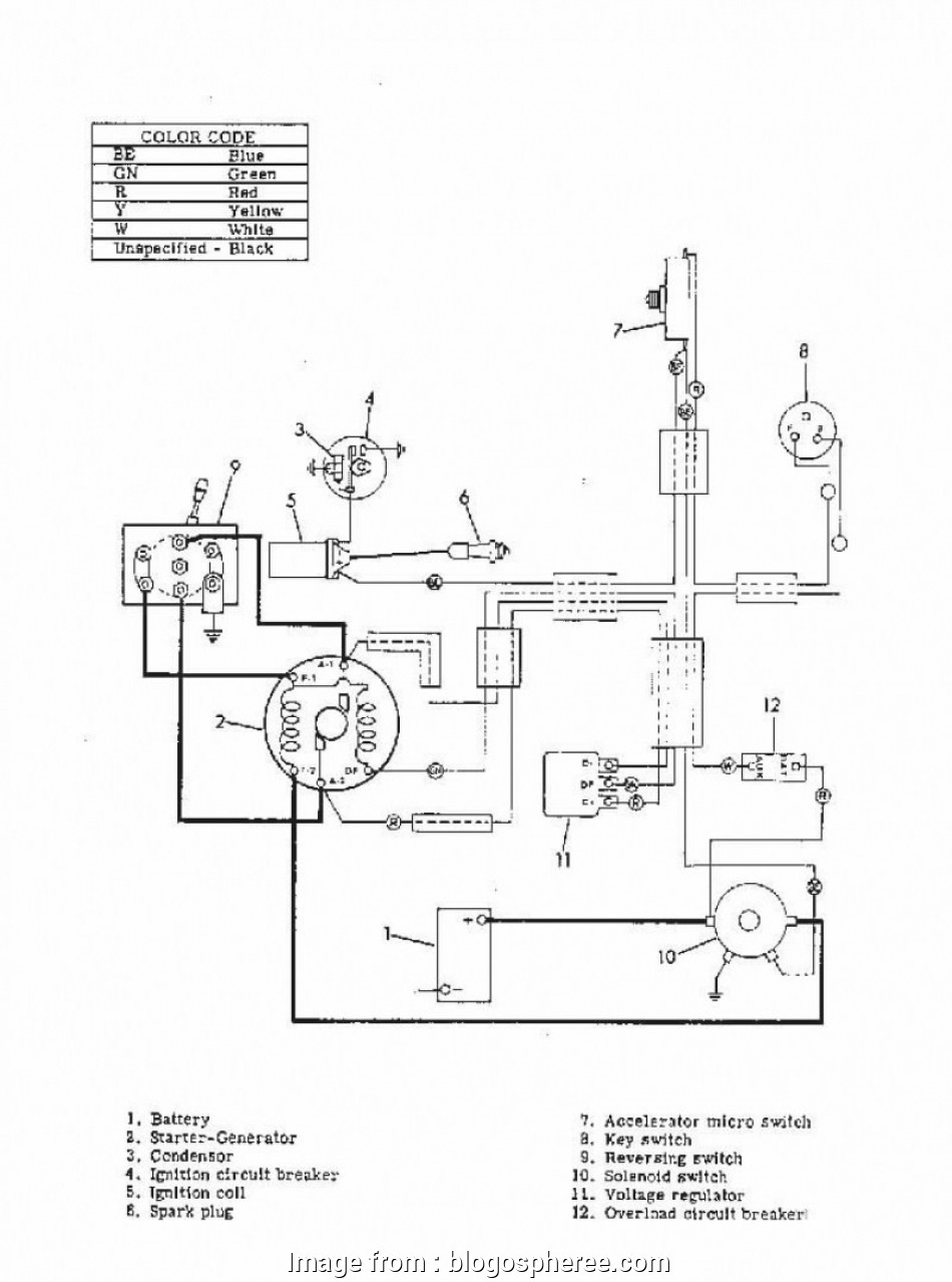 Ez Go Golf Cart Wiring Diagram Gas Engine Database