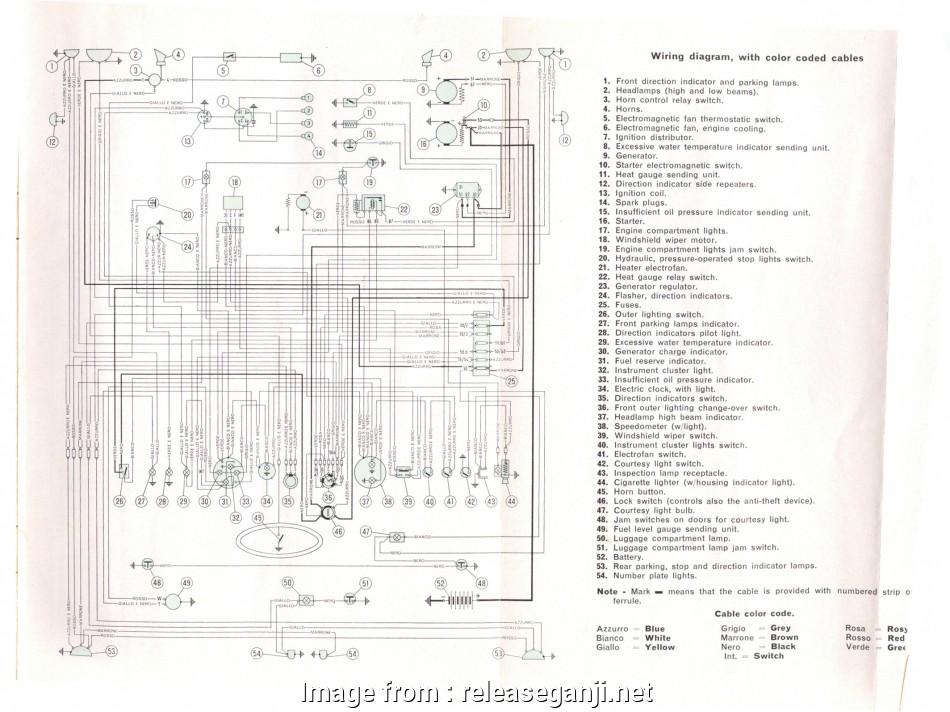 Fiat, Starter Wiring Diagram Fantastic FIAT, Manuals