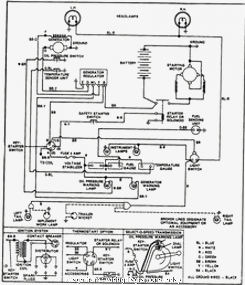 Ford 3000 Electrical Wiring Diagram Simple Ford 3000