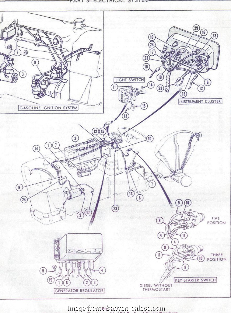 Ford 3000 Electrical Wiring Diagram Simple Ford Wiring