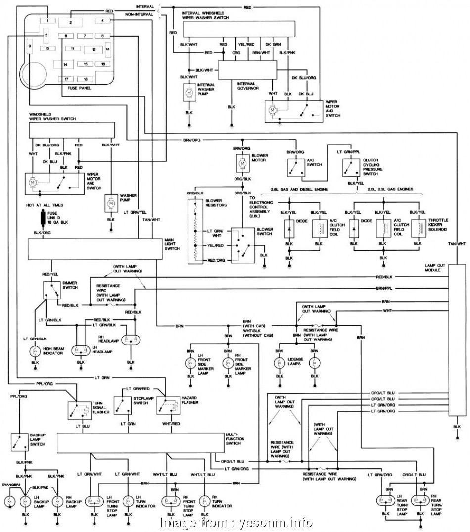 Ford Ranger Starter Wiring Diagram Professional 2001 Ford