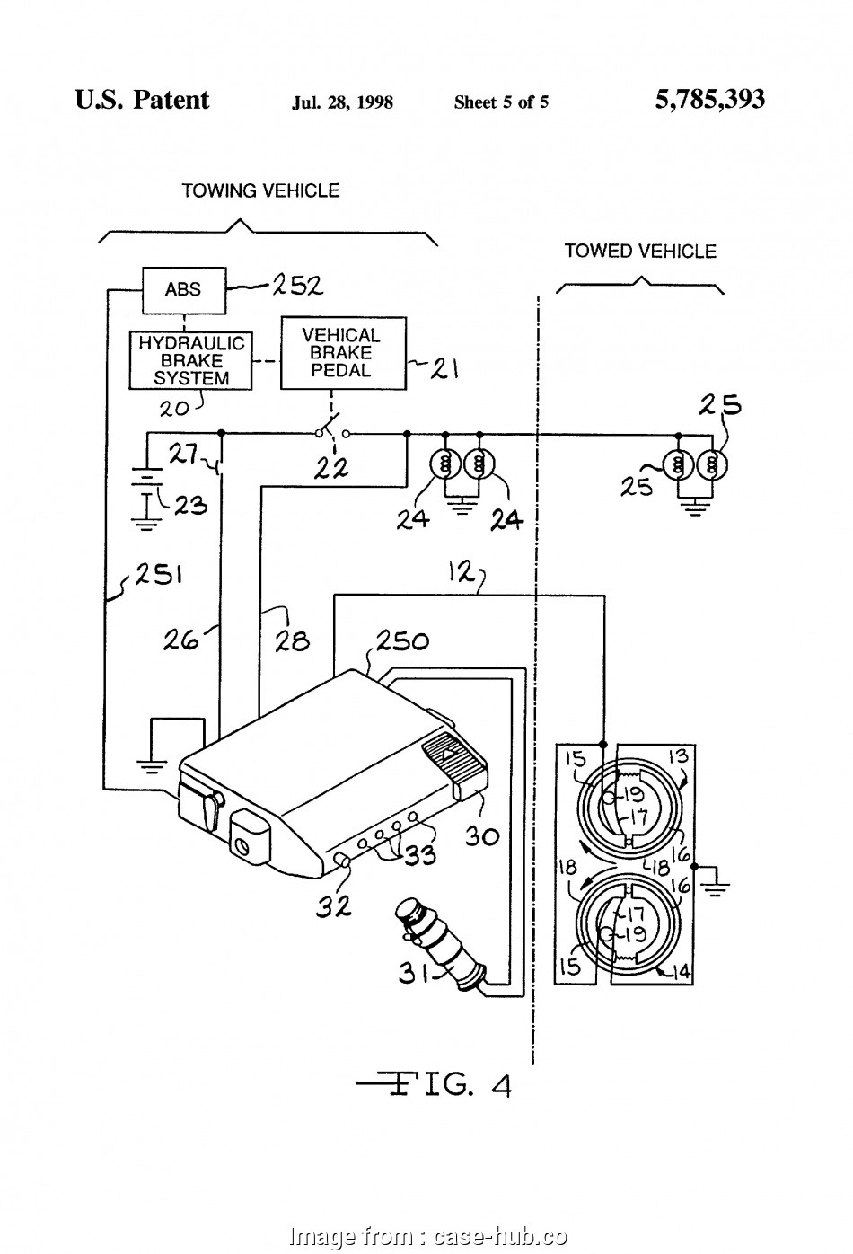 medium resolution of ford trailer brake controller wiring diagram dodge brake wiring diagram wire center u2022 rh 246