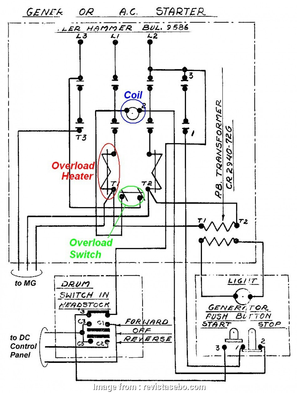 Forward Reverse Starter Wiring Diagram Fantastic Cutler