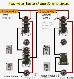 gauge wire 30 amp 240 volts pictures wiring diagram 220 water heater to [ 950 x 1002 Pixel ]