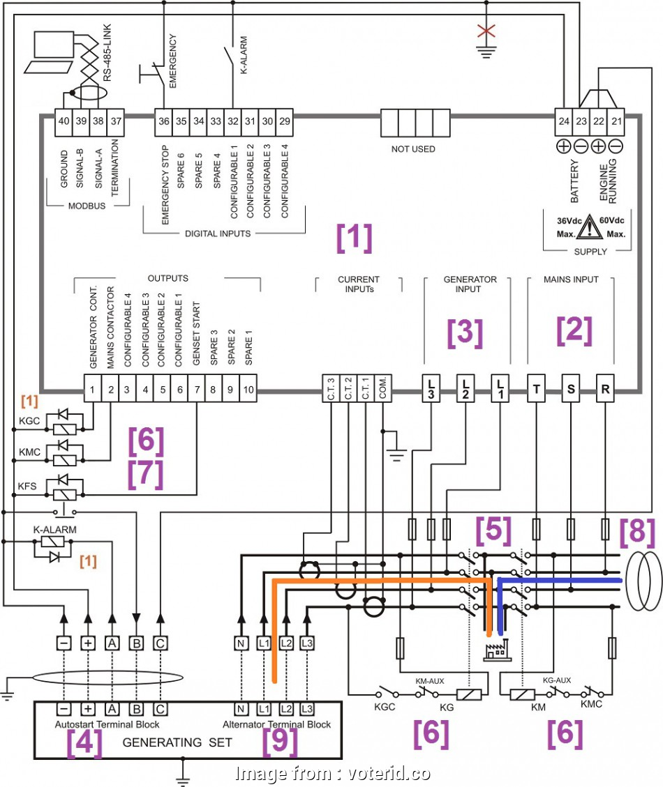 Generator Transfer Switch Wiring Diagram Brilliant 200
