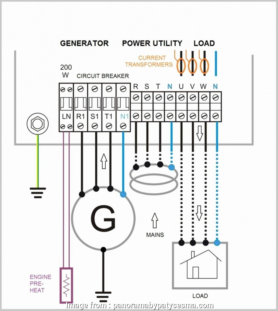 Generator Transfer Switch Wiring Popular Standby Generator