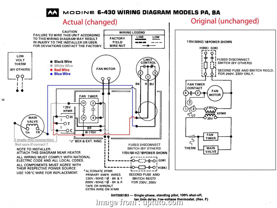 Goodman Furnace Thermostat Wiring Diagram Practical