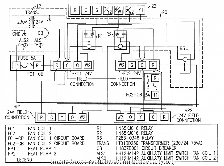 Goodman Heat Pump Thermostat Wiring Diagram Most Goodman