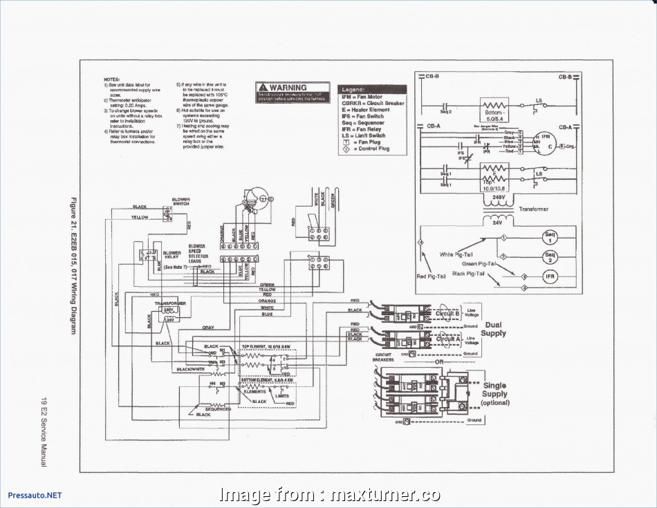 Goodman Package Unit Thermostat Wiring Diagram Best