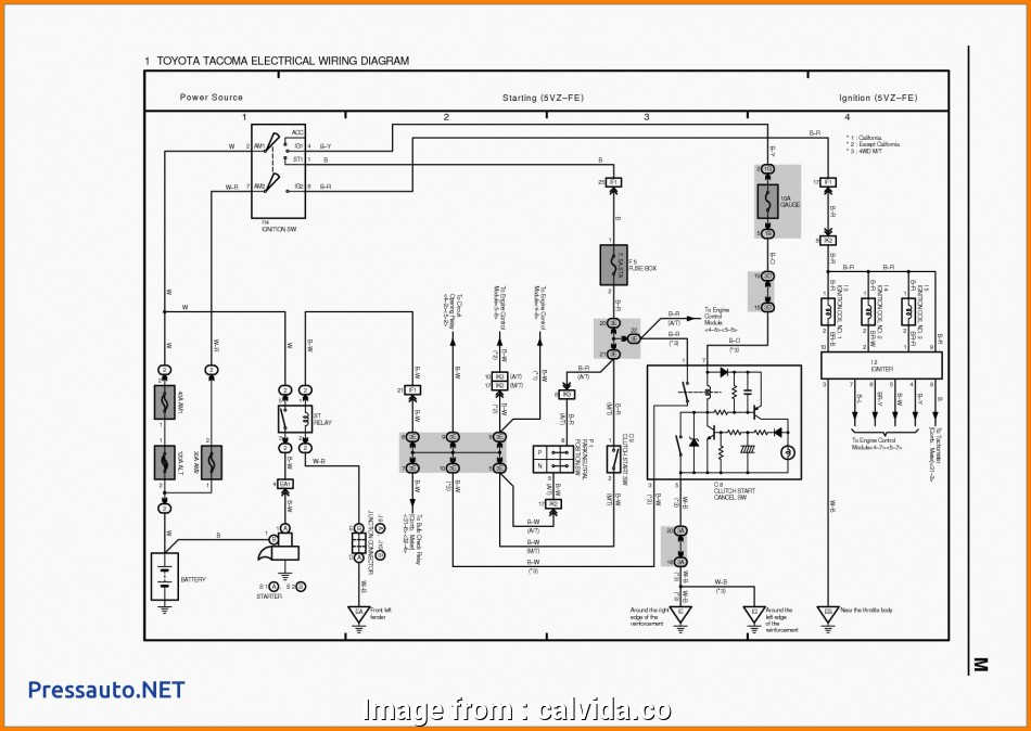 Hilux Starter Wiring Diagram Top Wiring Diagram, Toyota