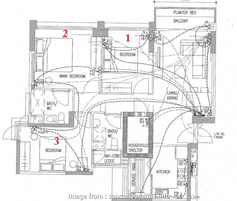 Home Electrical Wiring Blueprint And Layout