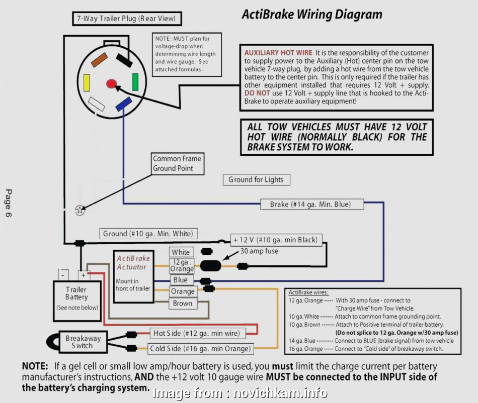 Hopkins Trailer Breakaway Wiring Diagram New Hopkins 7