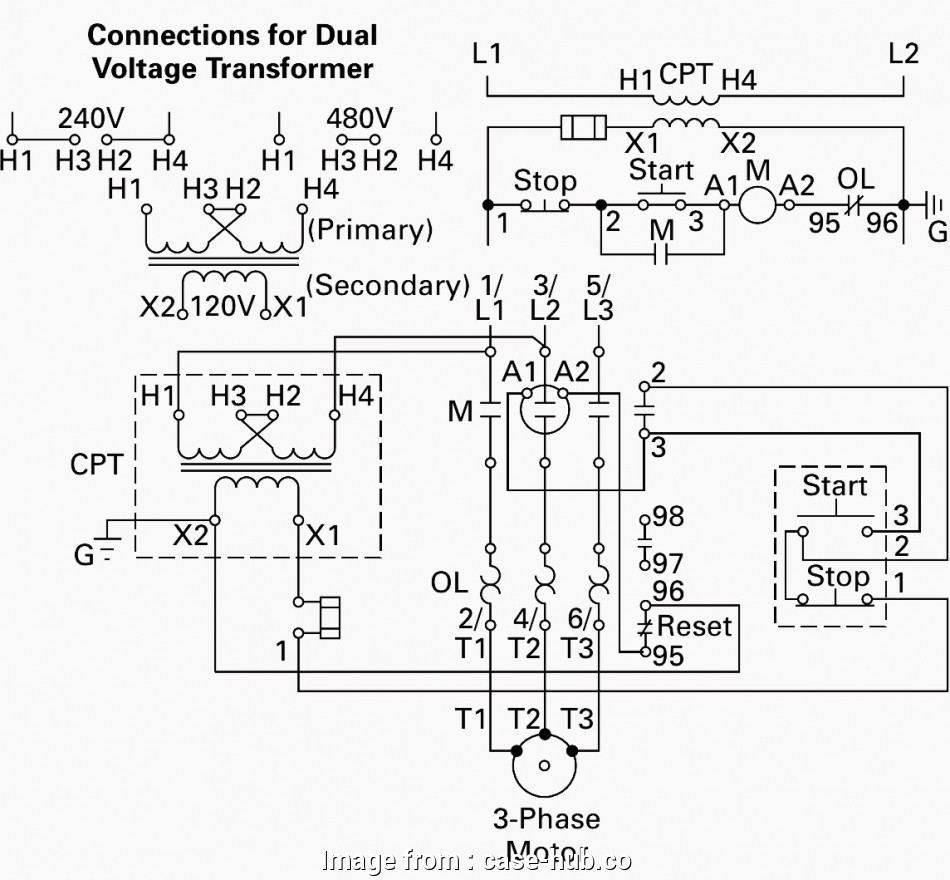 How To Wire A 480V Light Professional 480V 3 Phase