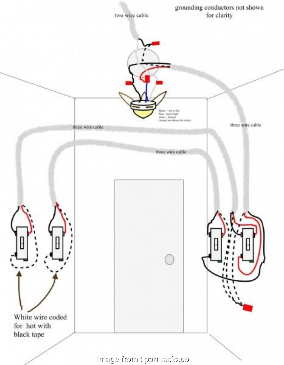 8 Most How To Wire A Ceiling, Light On A Three, Switch