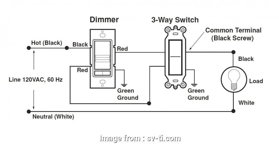How To Wire A Dimmer Switch In A, Way Switch Professional