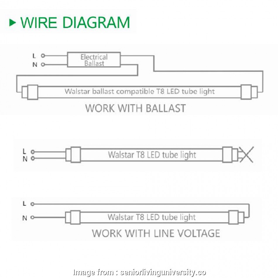 hight resolution of how to wire a fluorescent light for led t8 lamps ballast 2 philips wiring