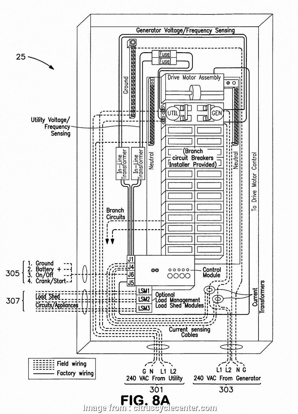 How To Wire A Generator Transfer Switch Diagram Best