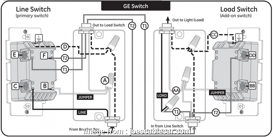 How To Wire A Light Switch Middle Of Circuit Popular