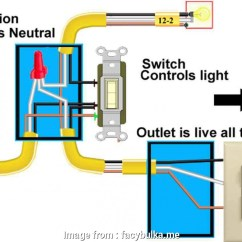 Switch Receptacle Combo Wiring Diagram Gy6 50cc Scooter 20 Most How To Wire A Light Plug Solutions Tone Tastic Outlet