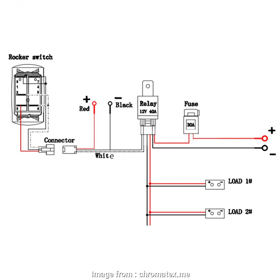 How To Wire A Light Switch To An Outlet Diagram Practical