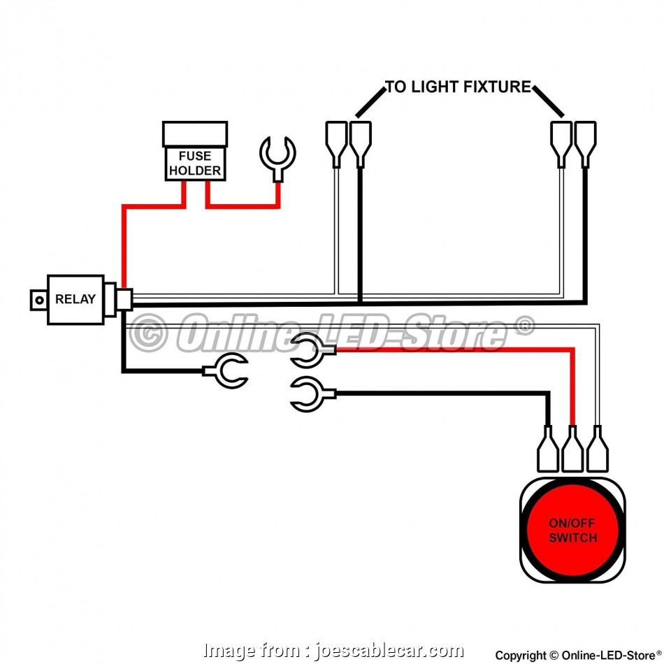 How To Wire A Light, To A Switch Most Wiring Diagram, Led