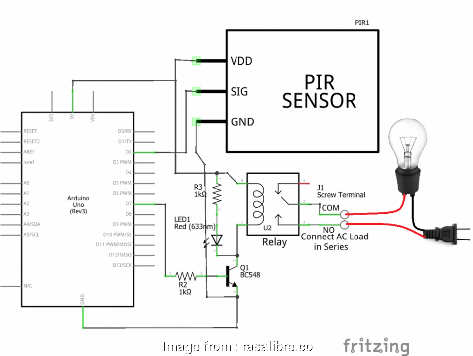 How To Wire A Motion Sensor Light Switch New Pir Motion