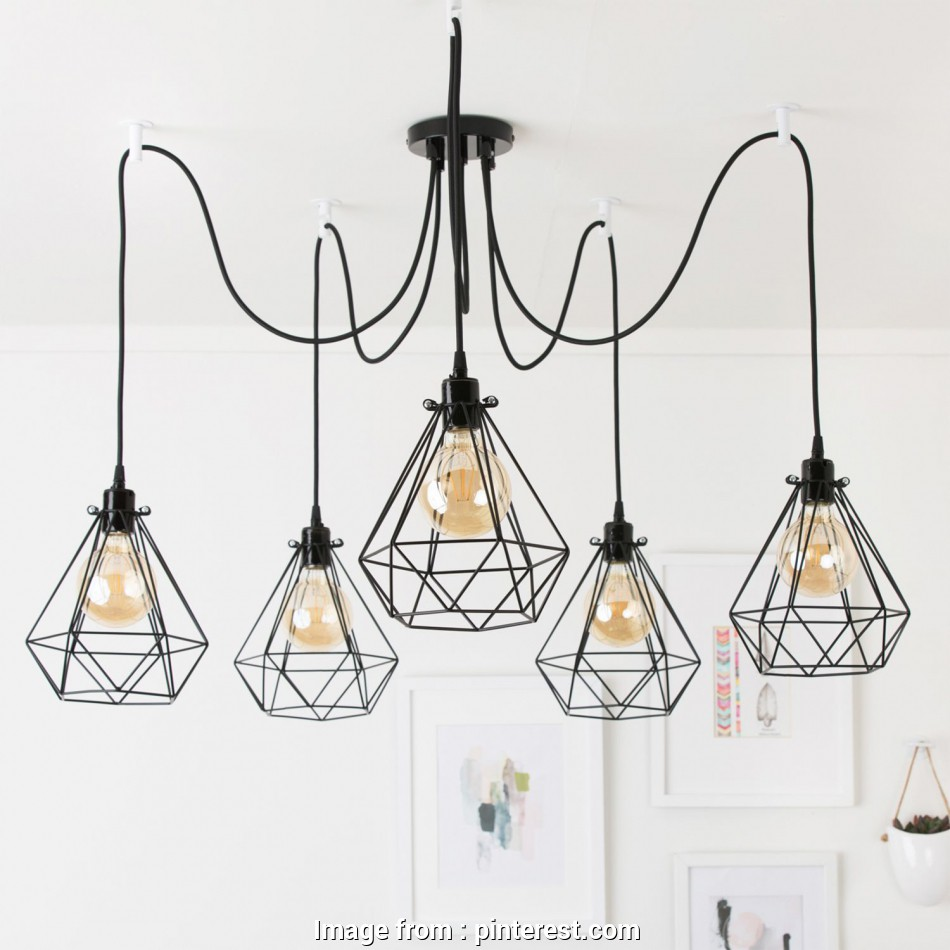 How To Wire, Light Fixture Best Our Metal 5-Port Pendant