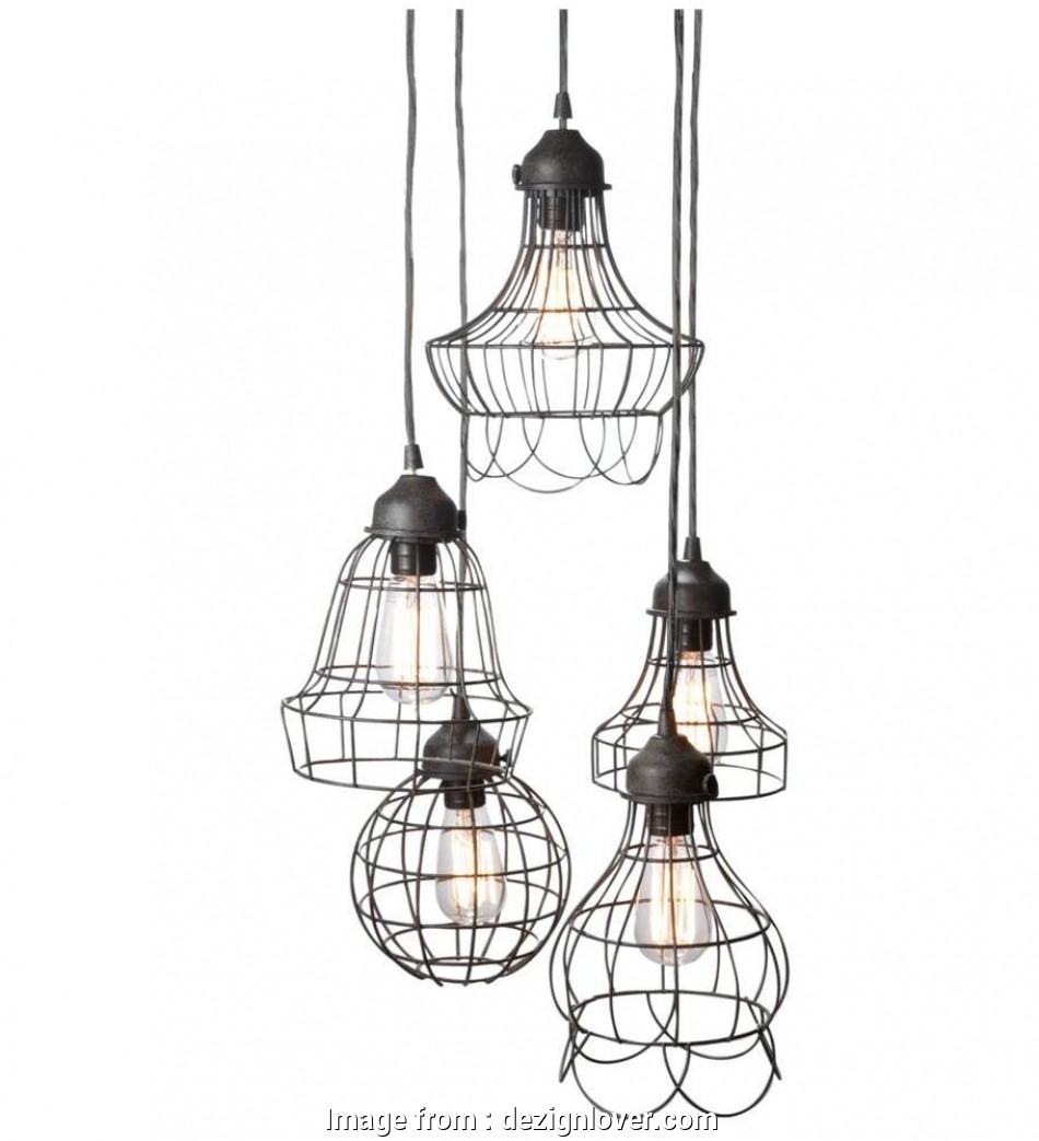 How To Wire, Light Fixture Cleaver Wire Five Pendant Lamp