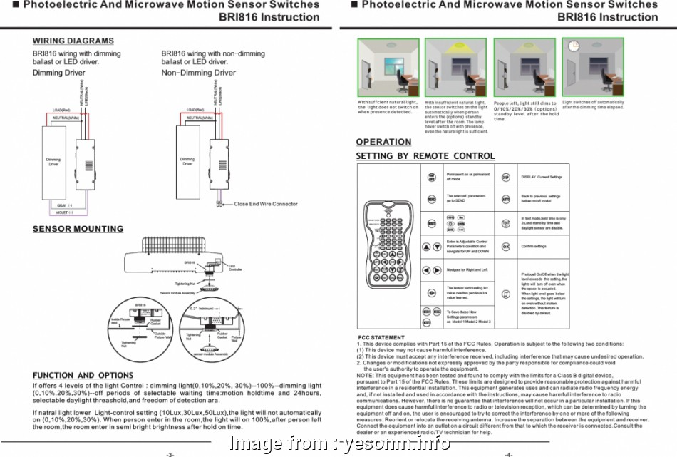 Motion Sensor Light Wiring Diagram Australia / Pir Motion