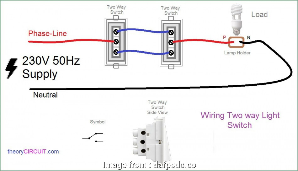 How To Wire Up A, Way Light Switch.Uk Best 2, Light Switch