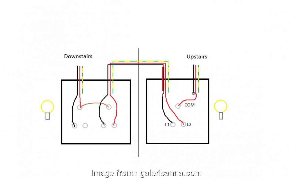 How To Wire Up, Way Light Switch Most 1 Gang 2, Light