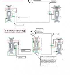 how to wire a 3 way switch as a single pole single pole dimmer switch wiring [ 950 x 1148 Pixel ]