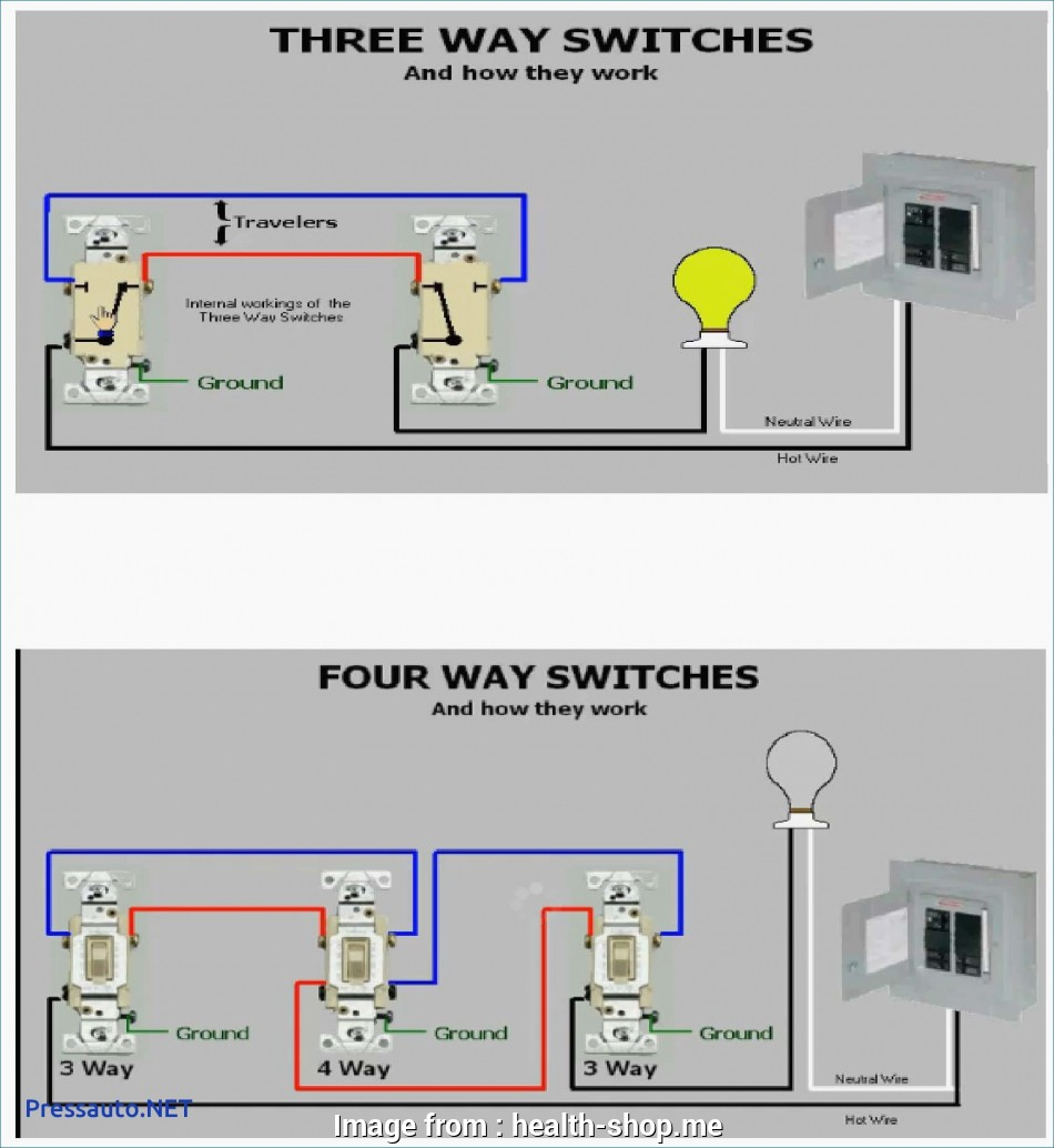wire three way switch diagram multiple lights 1997 honda accord engine how to with practical 3 a wiring
