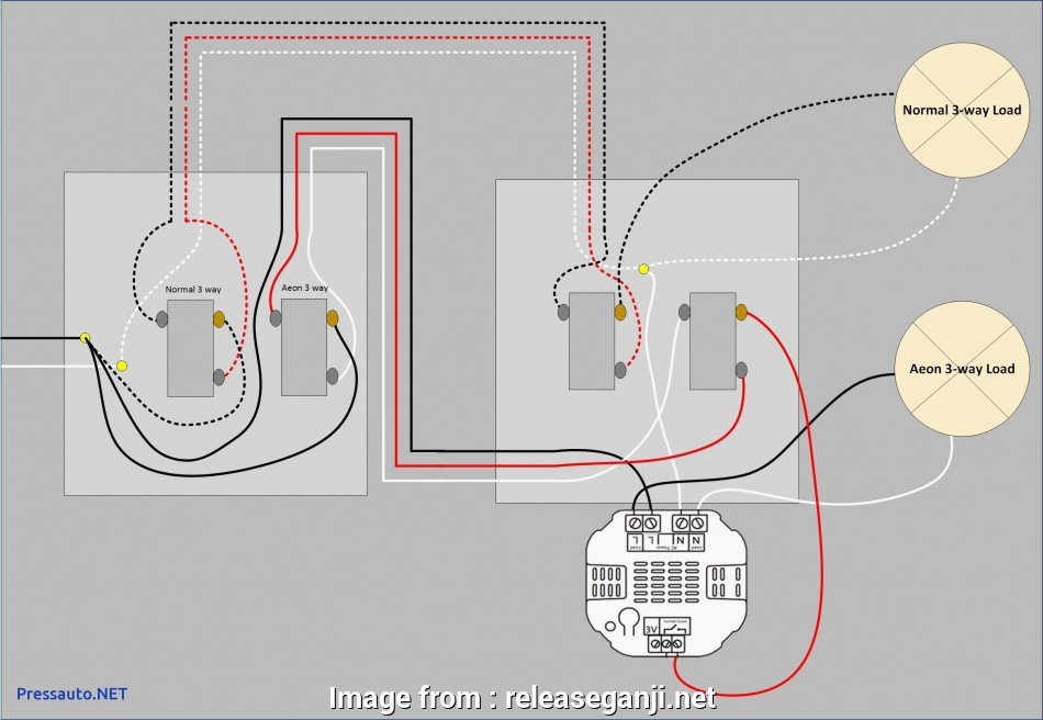 wire three way switch diagram multiple lights curtis hour meter wiring how to with practical a 3