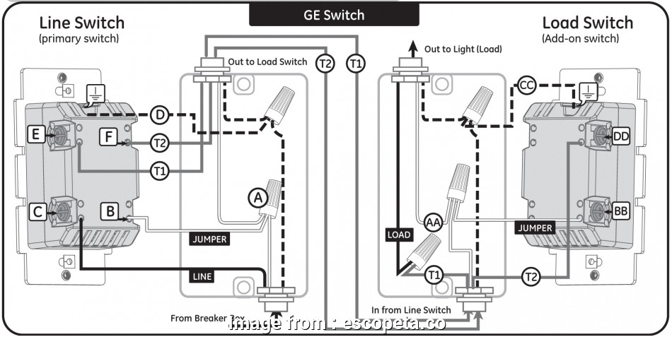 How To Wire, Way Switch With Power In, Middle Fantastic