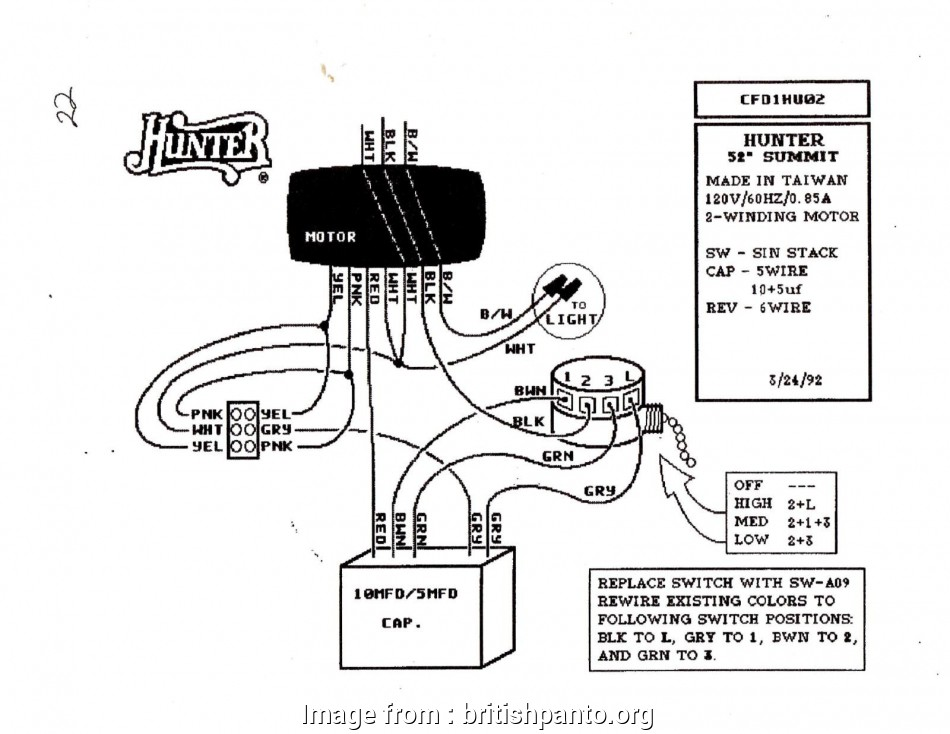 Hunter Ceiling, Wiring Diagram Blue Wire New Ceiling