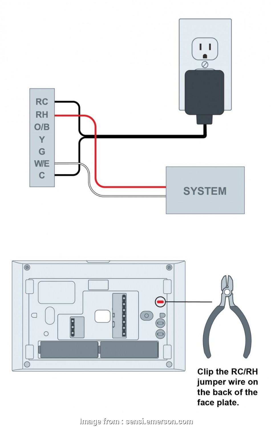 hight resolution of idevices thermostat wiring diagram adding a 24 external transformer a option heat