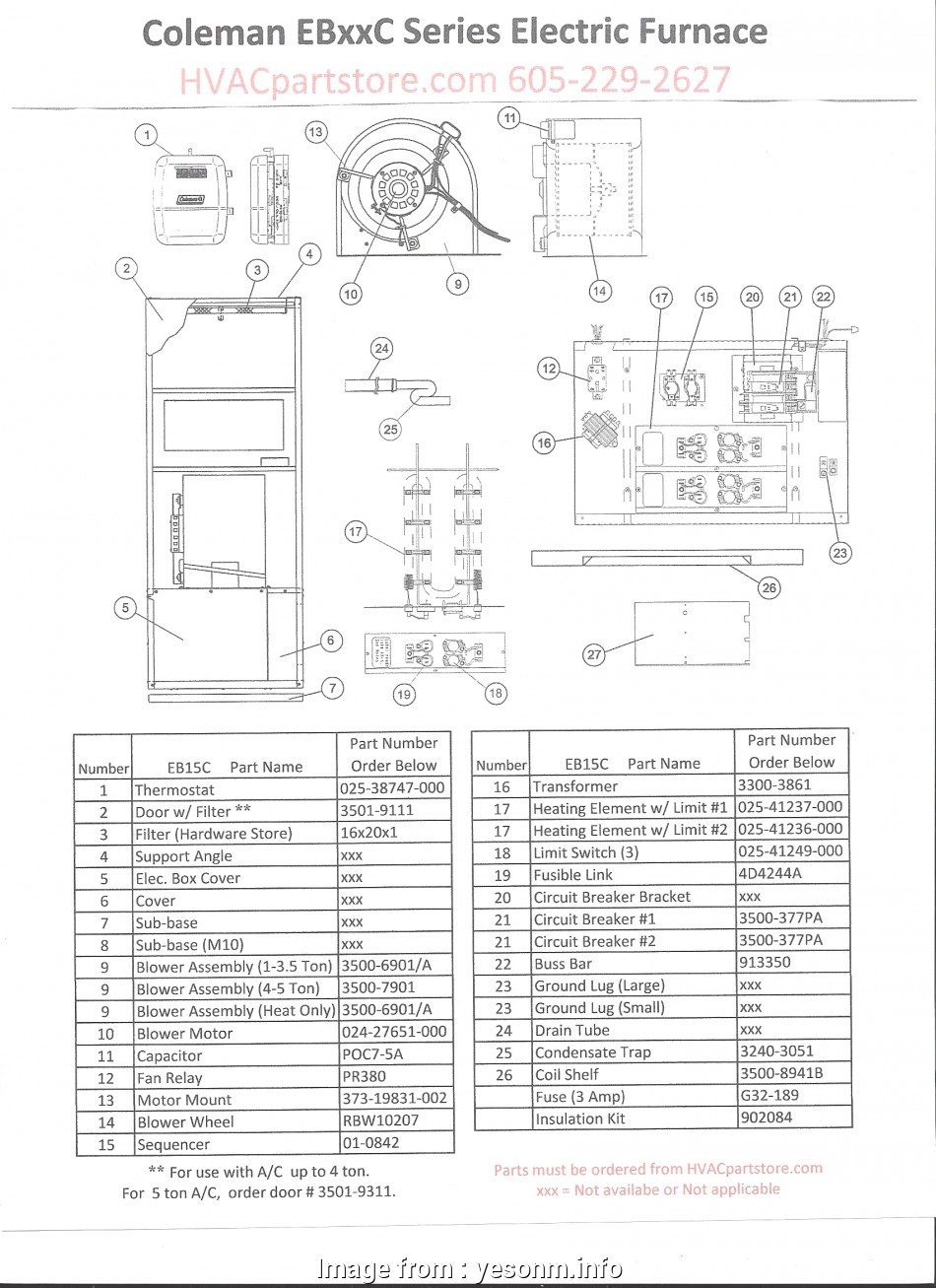 Intertherm Electric Furnace Wiring Diagram Simple