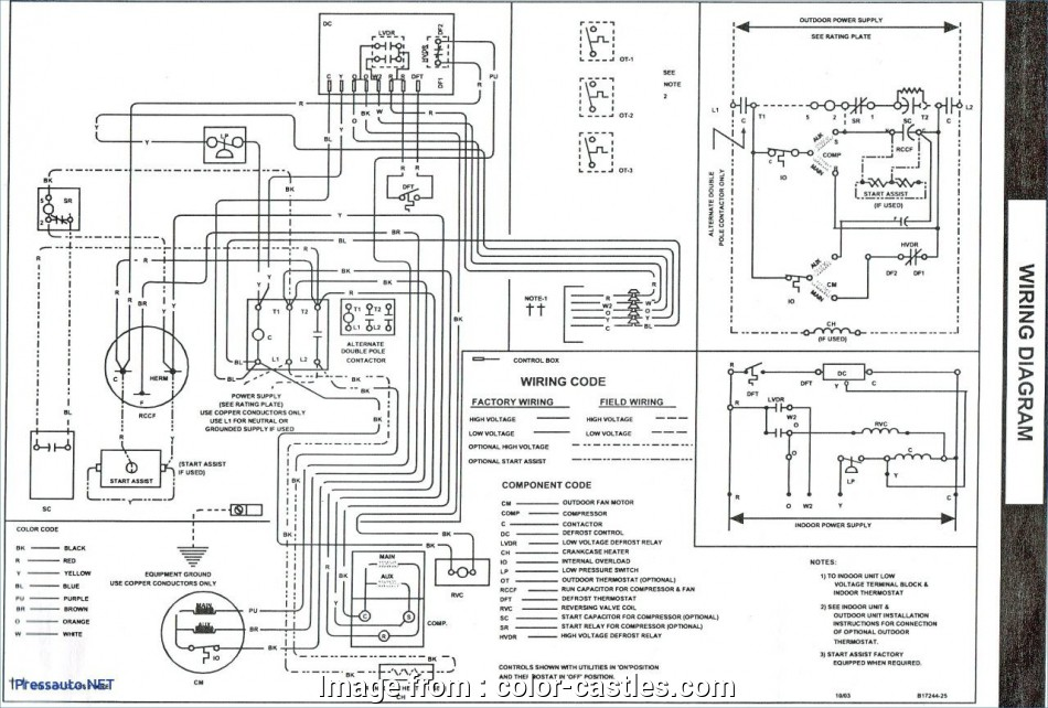 Janitrol Hpt18 60 Thermostat Wiring Diagram Nice Central