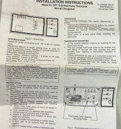janitrol hpt18 60 thermostat wiring diagram hpt18 60 goodman heat pump thermostat with emergency heat [ 950 x 1089 Pixel ]