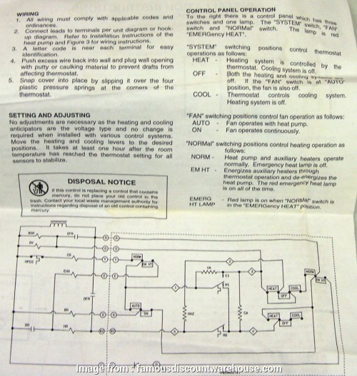 small resolution of janitrol hpt18 60 thermostat wiring diagram hpt18 60 goodman heat pump thermostat with emergency heat
