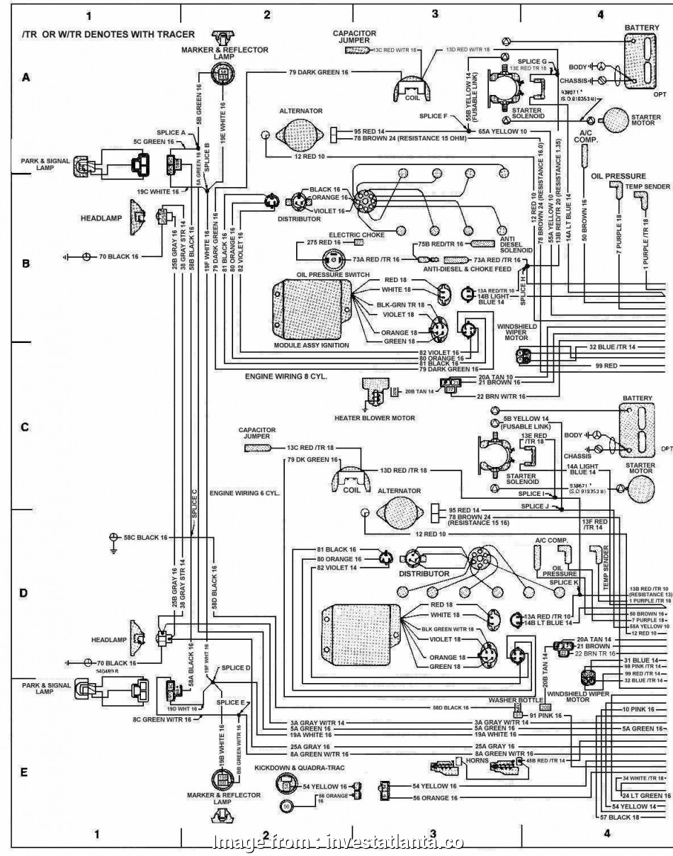 Jeep, Starter Wiring Diagram Brilliant 1988 Jeep Wrangler