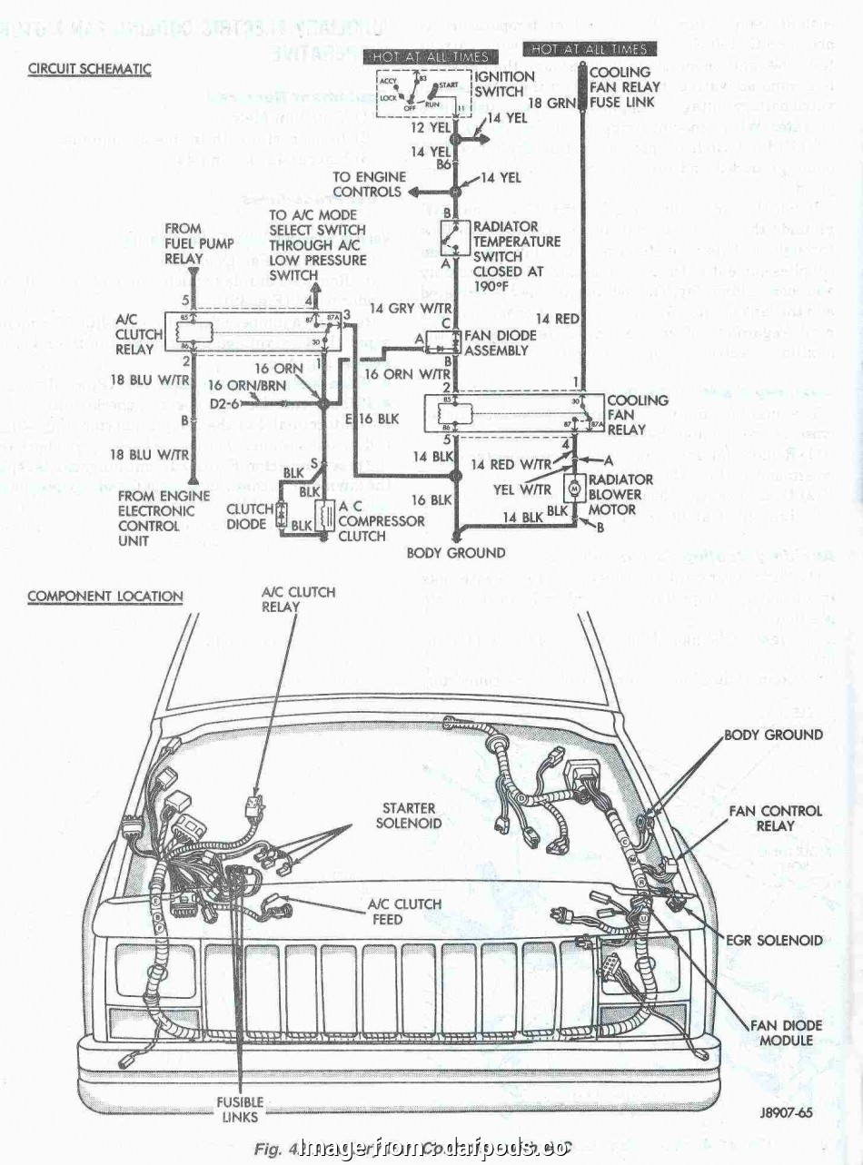 Jeep, Starter Wiring Diagram Cleaver Jeep Grand Cherokee