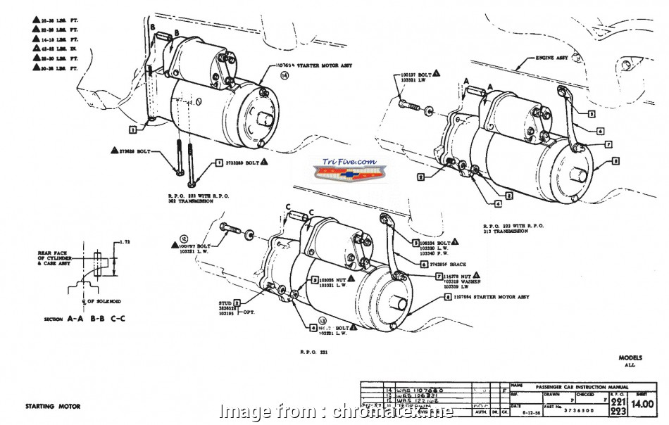 Starter And Solenoid Wiring Diagram On A 400Cu.in