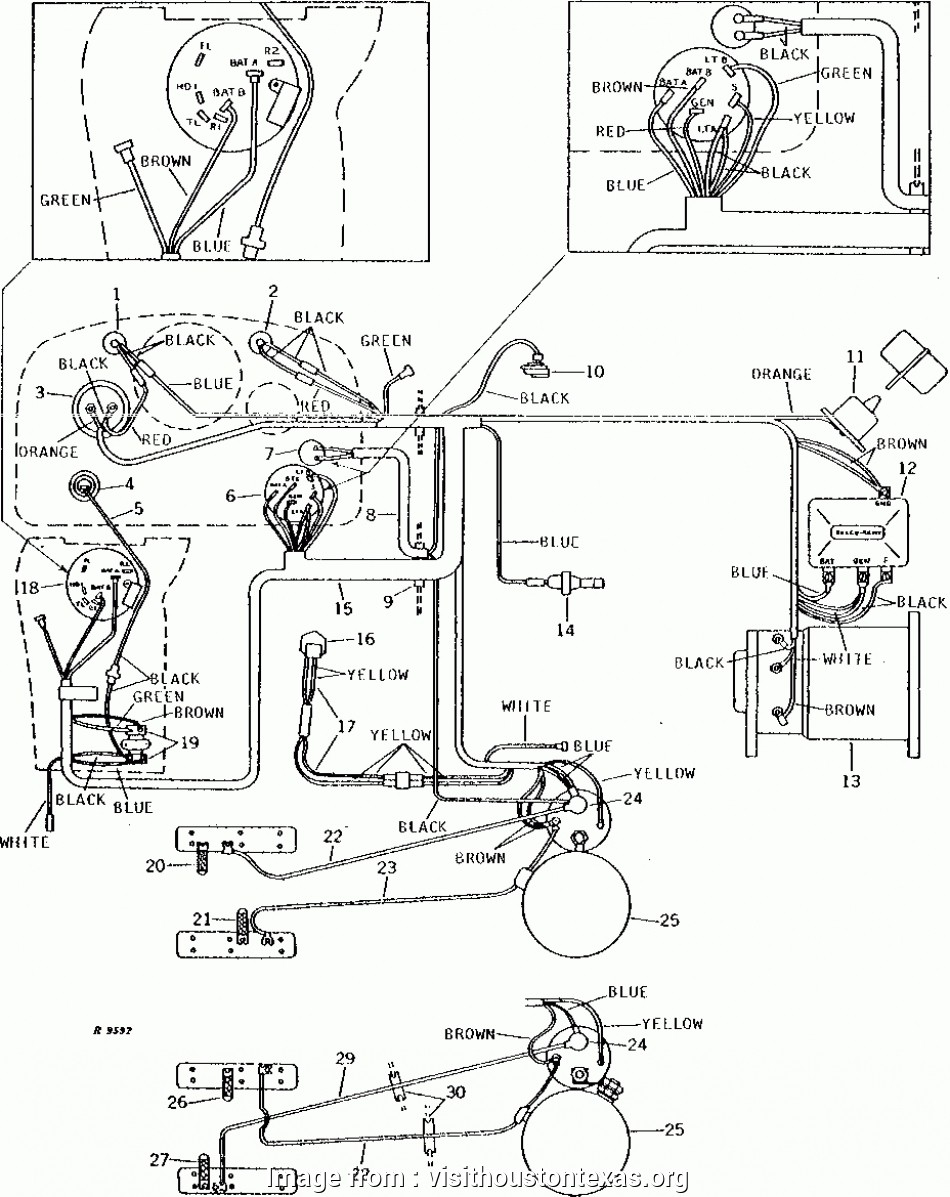 John Deere 4020 Starter Wiring Diagram Simple John Deere