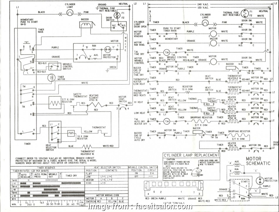 Kenmore Dryer Wiring Diagram Simple Kenmore Dryer Power
