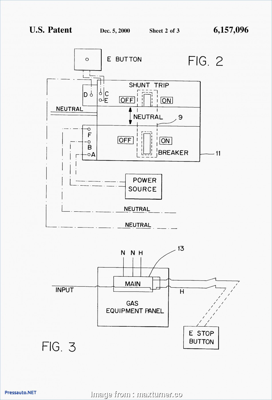 hight resolution of light switch circuit breaker trip square d pressure switch 9013 wiring diagram shunt trip circuit rh