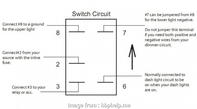 12v rocker switch wiring diagram free picture